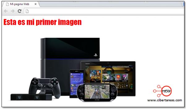 como insertar una imagen en mi pagina web