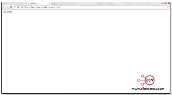 estructura basica de una pagina web HTML herramientas informaticas