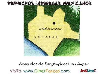 Acuerdos de San Andres Larrainzar - Derechos Indigenas Mexicanos
