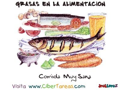 Comida Muy Sana - Grasas en la Alimentacion