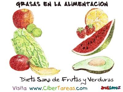 Dieta Sana Frutas y Verduras - Grasas en la Alimentacion