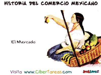 El Mercado - Historia del Comercio Mexicano
