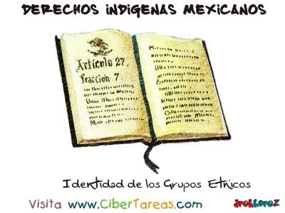 Identidad de los Grupos Etnicos - Derechos Indigenas Mexicanos
