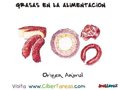 Origen Animal - Grasas en la Alimentacion