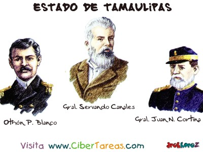 Personajes Sobresalientes_1 - Estado de Tamaulipas