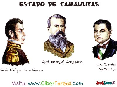 Personajes Sobresalientes_2 - Estado de Tamaulipas