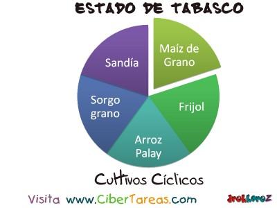Cultivo Ciclicos - Estado de Tabasco