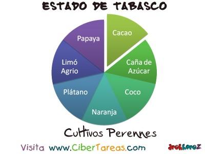 Cultivos Perennes - Estado de Tabasco