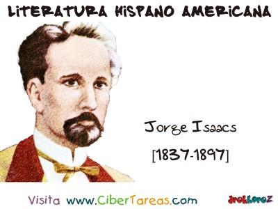 Jorge Isaacs Colombia - Literatura Hispano Americana