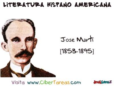 Jose Marti Cuba - Literatura Hispano Americana