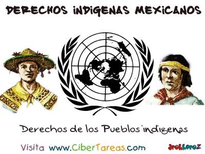Los Pueblos Indigenas - Derechos Indigenas Mexicanos
