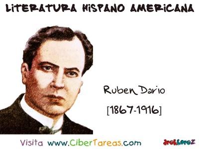 Ruben Dario Nicaragua - Literatura Hispano Americana