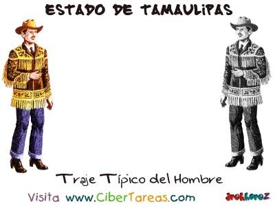 Traje Tipico del Hombre - Estado de Tamaulipas