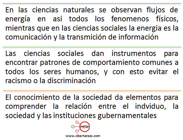 importancia de las ciencias sociales en la vida cotidiana