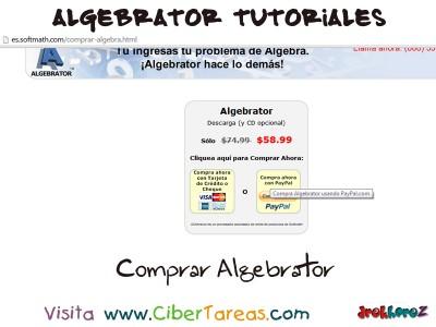 Comprar - Algebrator Tutoriales