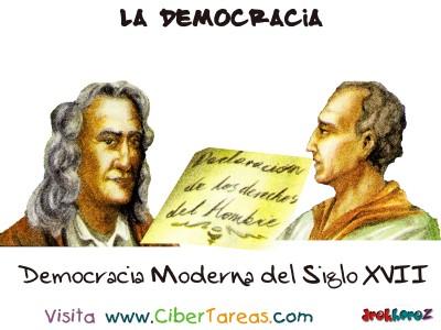 Democracia Moderna del Siglo XVII - La Democracia