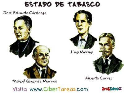 Hombres Notables - Estado de Tabasco