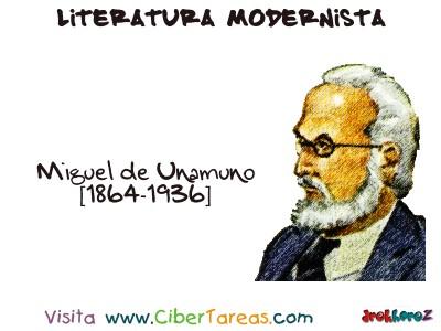 Miguel de Unamuno - Literatura Modernista
