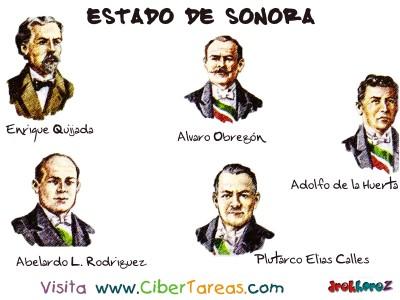 Personajes Notables - Estado de Sonora