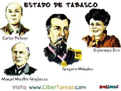 Personajes Sobresalientes - Estado de Tabasco