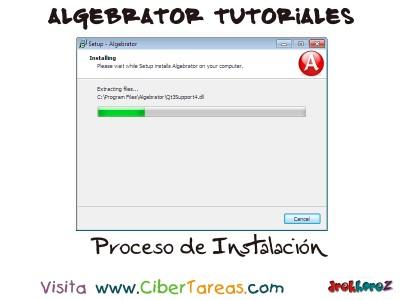 Proceso de Instalacion - Algebrator Tutoriales