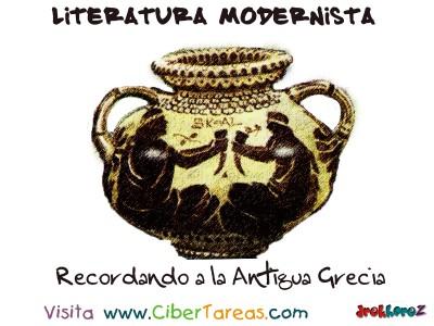 Recordando a la Antigua Grecia - Literatura Modernista