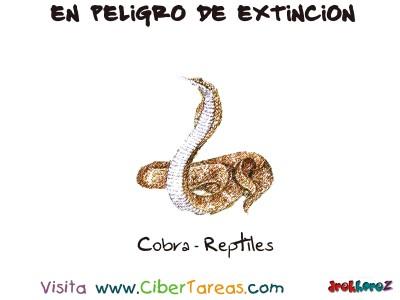 Cobra Reptiles - Peligro de Extincion