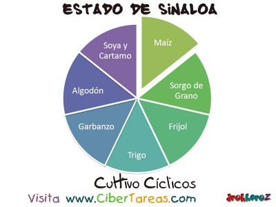 Cultivos Ciclicos - Estado de Sinaloa