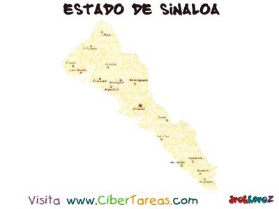 Estado de Sinaloa_Mapa