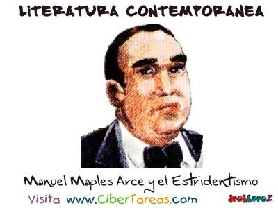 Estridentismo y Manuel Maples Arce - Literatura Contemporanea