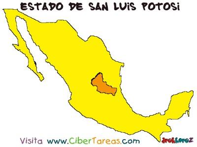 Mapa - Estado de San Luis Potosi