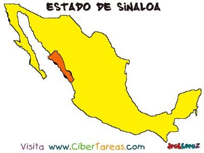 Mapa - Estado de Sinaloa