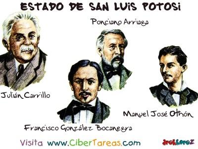 Personajes Notables - Estado de San Luis Potosi