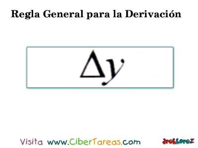 Regla General para la Derivacion en 4 Pasos-2- Calculo Diferencial