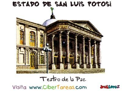 Teatro de la Paz - Estado de San Luis Potosi