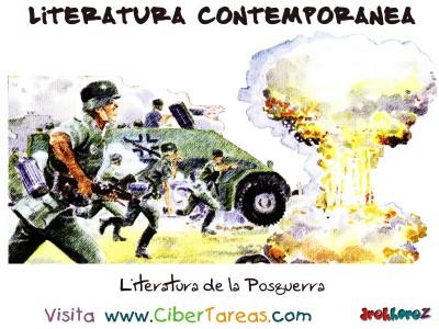 Literatura de la Posguerra - Literatura Contemporanea