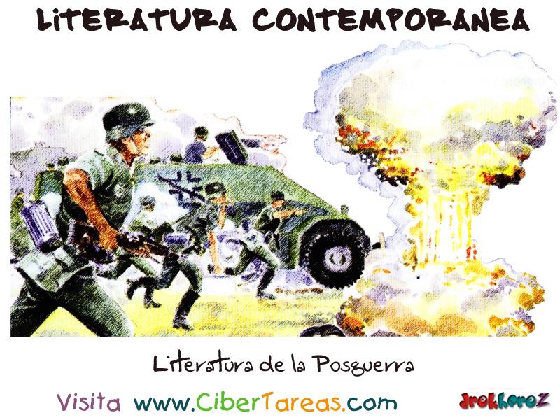 Literatura de la posguerra literatura contempor nea for Imagenes de epoca contemporanea