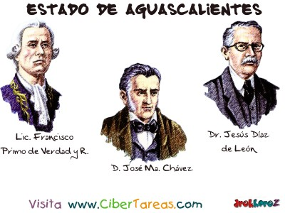 Personajes Notables-1 - Estado de Aguascalientes