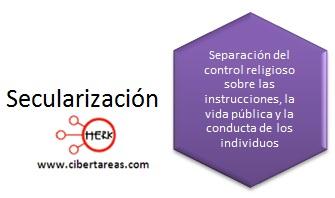 concepto de secularizacion introduccion a las ciencias sociales