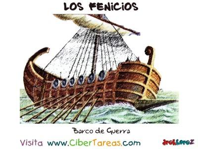 Barco de Guerra - Los Fenicios