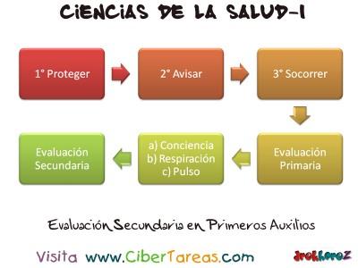 Evaluacion Secundaria_Primeros Auxilios -Ciencias de la Salud-1