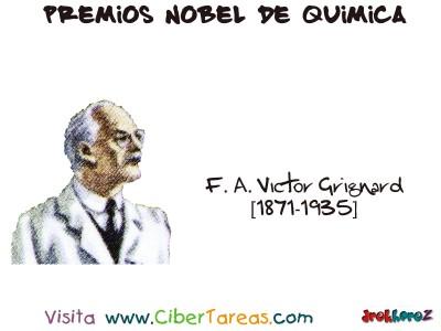 F.A. Victor Grignard[1871-1935]-Premios Nobel de Quimica