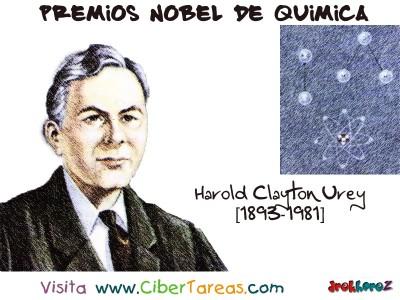 Harold Clayton Urey[1893-1981]-Premios Nobel de Quimica