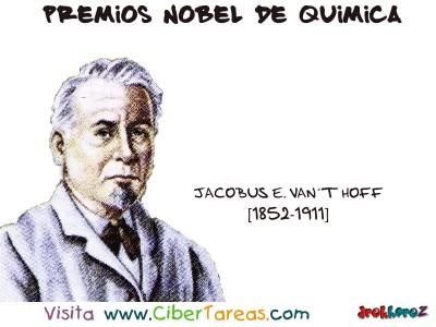 Jacobus E. Vant Hoff[1852-1911]-Premios Nobel de Quimica