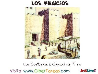 Las Costas de la Ciudad de Tiro - Los Fenicios