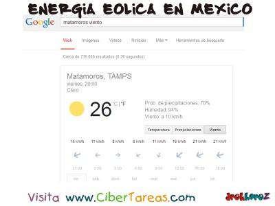 Medicion del Viento y la - Energia Eolica en Mexico