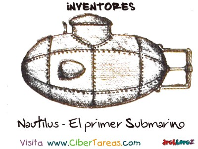Nautilus primer submarino de Roberto Fulton-Inventores
