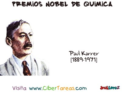 Paul Karrer[1889-1971]-Premios Nobel de Quimica