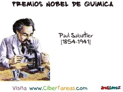 Paul Sabatier [1854-1941]-Premios Nobel de Quimica
