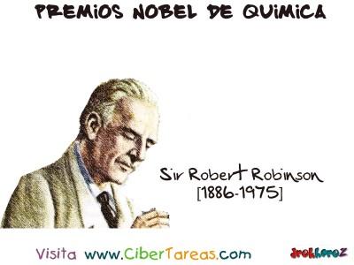 Sir Robert Robinson[1886-1975]-Premios Nobel de Quimica